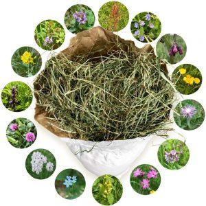 Bioheu, 1. Schnitt, Qualitäts-Kleintier-Futter, Kräutervielfalt